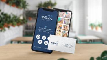 Flokinhos Festas Personalizadas Identidade Visual Cartão Virtual