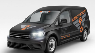 Identidade Visual Logotipo Oficina Mecânica Kirsch Motors
