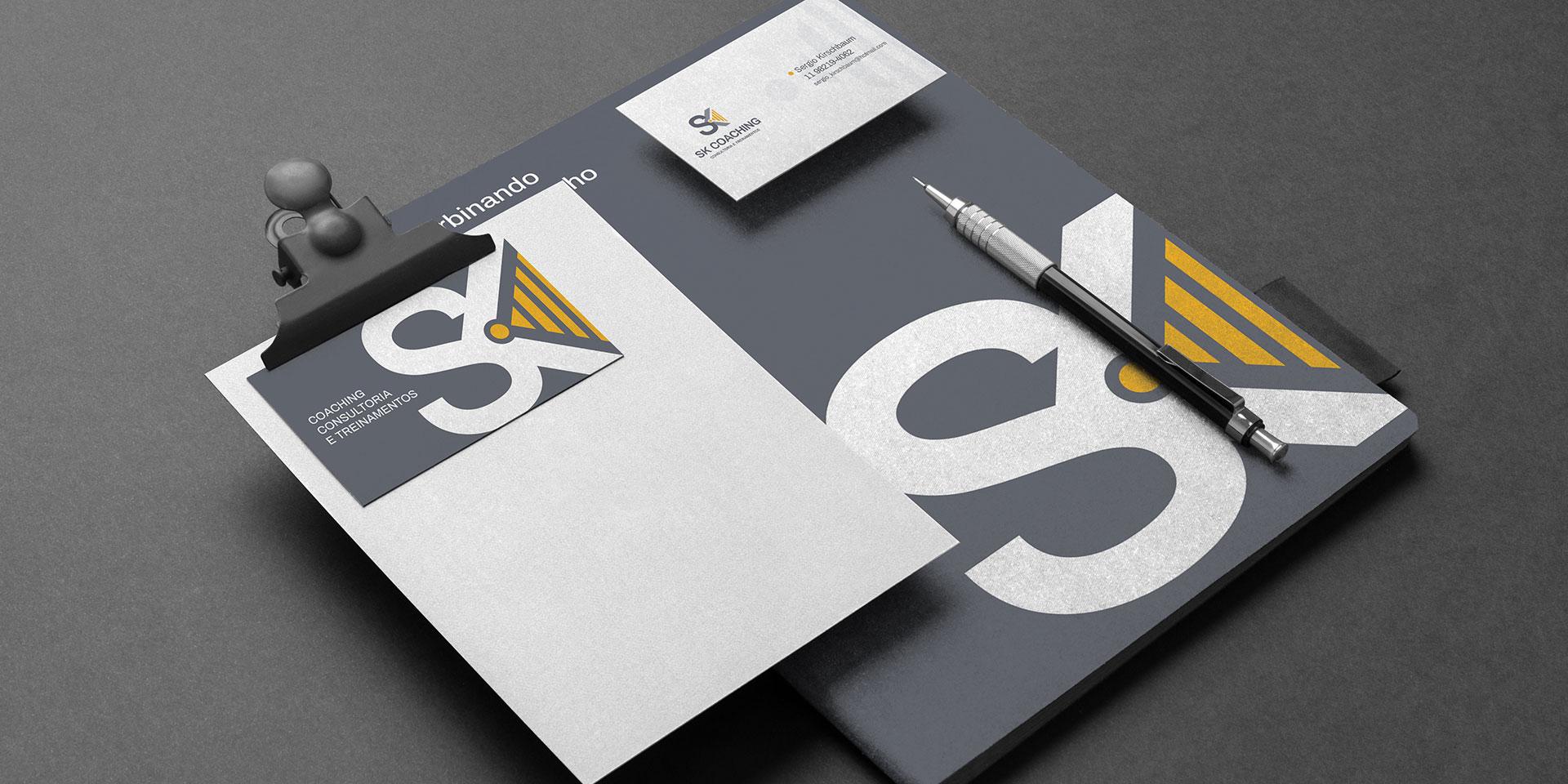 SK Coaching e Treinamentos Identidade Visual, Logotipo