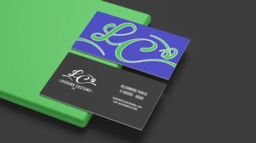 Lasagna Customs Cartão de visitas